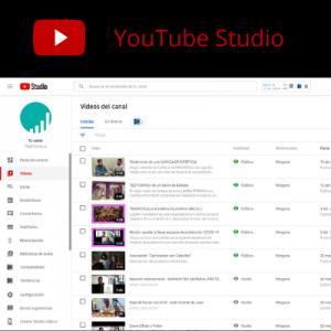 Trafficker Digital con YouTube Studio