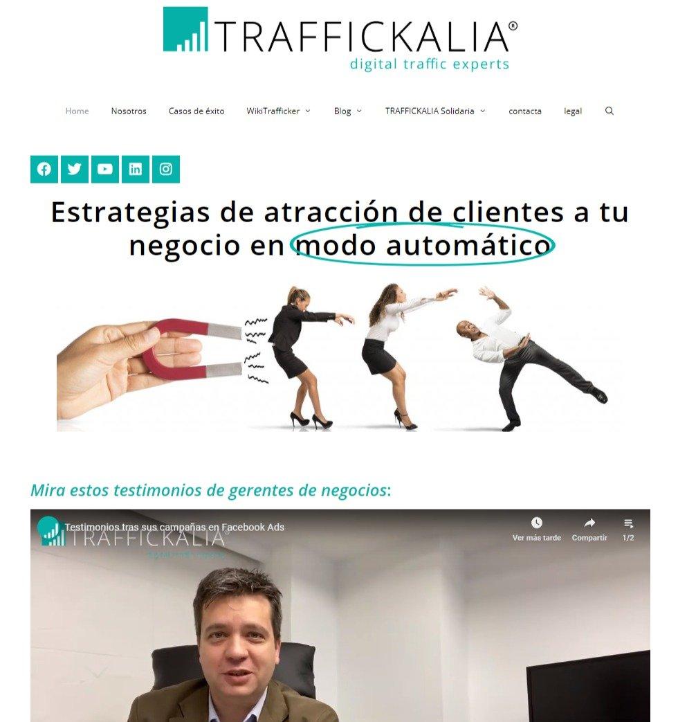 Así se creó la agencia Traffickalia